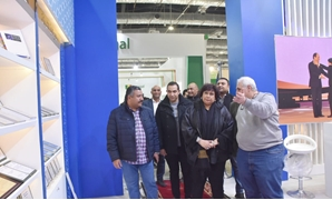 Abdel Dayem during the inspection tour - ET