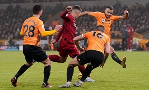 Soccer Football - Premier League - Wolverhampton Wanderers v Liverpool - Molineux Stadium, Wolverhampton, Britain - January 23, 2020 Liverpool's Roberto Firmino scores their second goal REUTERS/Andrew Yates