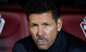 FILE PHOTO: Soccer Football - La Liga Santander - Eibar v Atletico Madrid - Ipurua Municipal Stadium, Eibar, Spain - January 18, 2020 Atletico Madrid coach Diego Simeone before the match REUTERS/Vincent West/File Photo