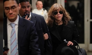 Actor Rosie Perez exits after testifying during film producer Harvey Weinstein's sexual assault trial at New York Criminal Court in the Manhattan borough of New York City, New York, U.S., January 24, 2020. REUTERS/Brendan McDermid