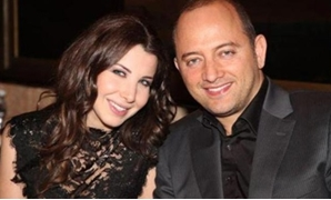 Ajram and her Husband Fadi el-Hachem - ET