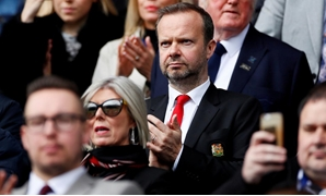 FILE PHOTO: Soccer Football - Premier League - Huddersfield Town v Manchester United - John Smith's Stadium, Huddersfield, Britain - May 5, 2019 Manchester United executive vice-chairman Ed Woodward in the stands before the match Action Images via Reuters
