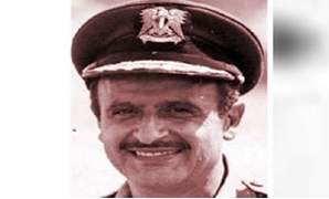 FILE - Former Air Force Commander Ahmed Abdel Rahman Nasr