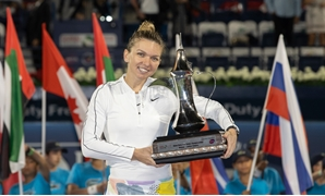 No.1 seed Simona Halep has won her second Dubai Duty Free Tennis Championships title, after beating 20 –year- old Kazakh Elena Rybakina in Saturday's final