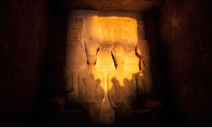 The phenomena of the sun Illuminating Ramses II face in Aswan - Press photo