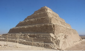 Pyramid of Djoser after restoration - ET