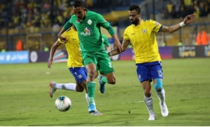 File - The first leg clash between Ismaily and Raja in Ismailia