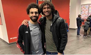 File- Mohamed Salah and Mohamed Elneny