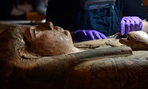 File- Egyptian mummy which is nearly 3,000 years old named Ta-Kr-Hb.