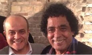 File- Mohamed Mounir and Bassem Darwish.