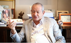 Businessman Naguib Sawiris - File photo/ Photo credit Hazim Abdelsamad