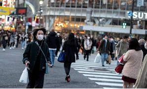 People wearing face masks due to the outbreak of novel Coronavirus, COVID-19 in Japan - Reuters
