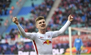 Football Soccer - RB Leipzig v Cologne - German Bundesliga - Red Bull Arena, Leipzig, Germany - 25/02/17 - Leipzig's imo Werner celebrates his goal v Cologne. REUTERS/Matthias Rietschel