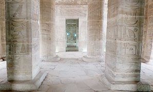 Amada Temple - Screenshot from virtual tour brought by Egypt's Min. of Tourism & Antiquties and Virtual Mid East.
