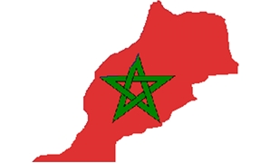 Morocco Flag Map - Wikimedia Commons